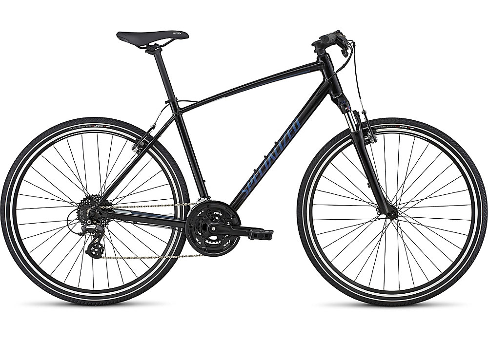 trekingové kolo Specialized Crosstrail 2017 black/blue/blue