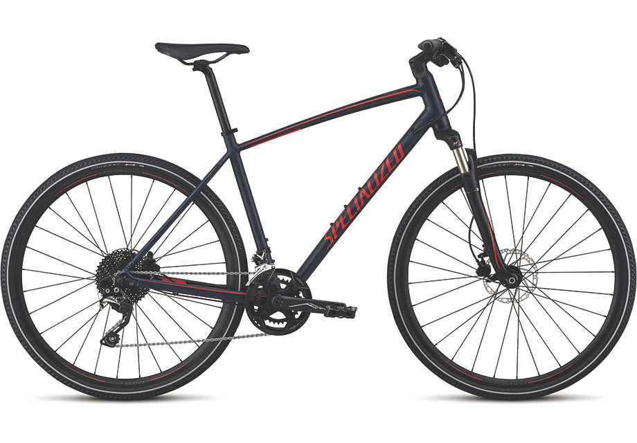 trekingové kolo Specialized Crosstrail Elite 2019 blue/red/red