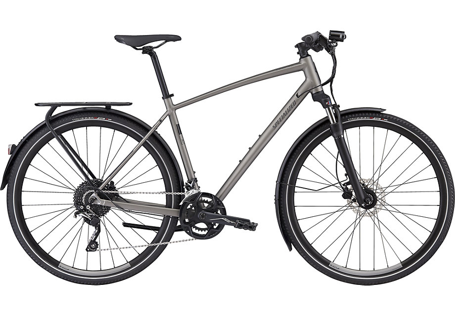 trekingové kolo Specialized Crosstrail Expert 2019 satin brushed