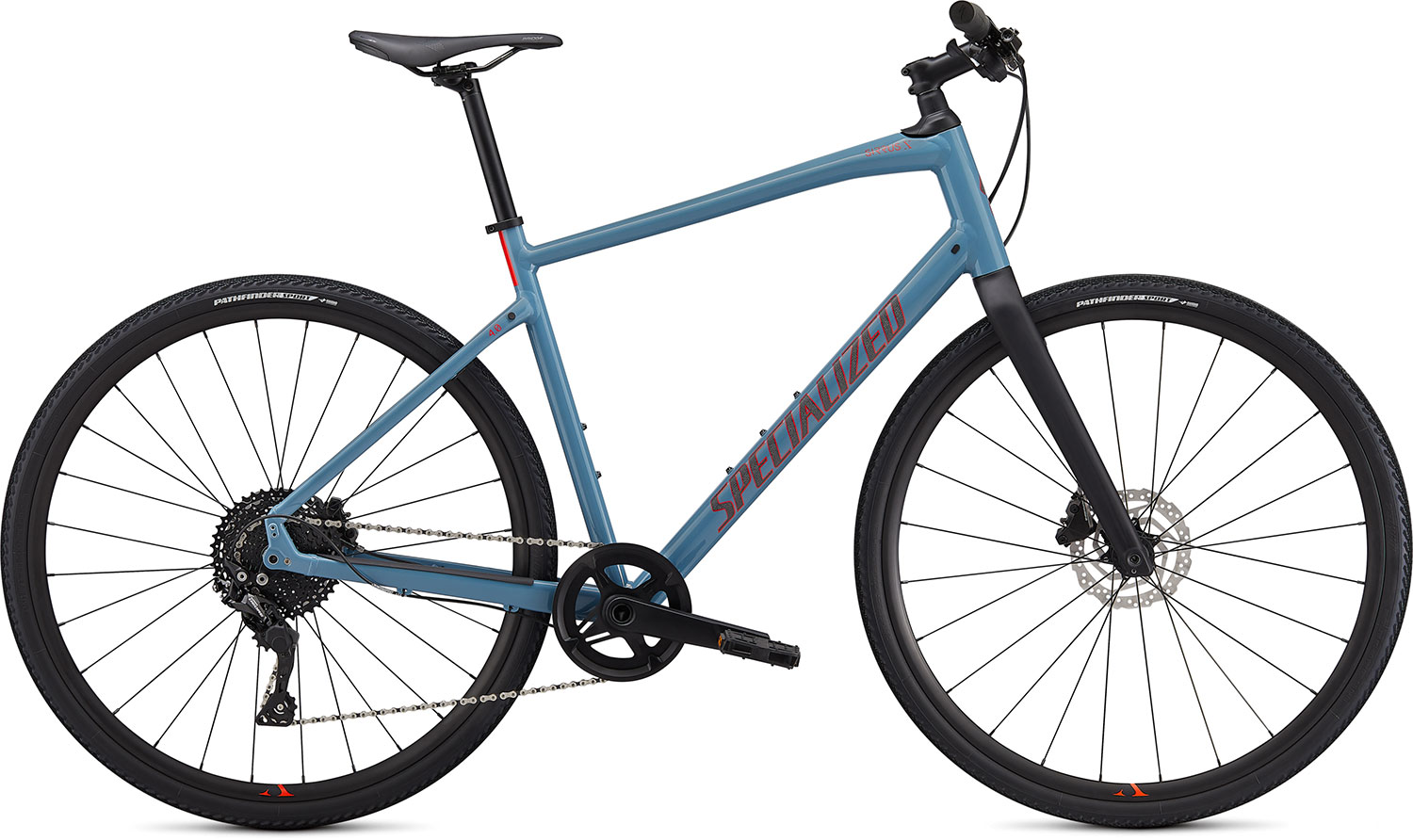 fitness kolo Specialized Sirrus X 4.0 2020 storm gray/red