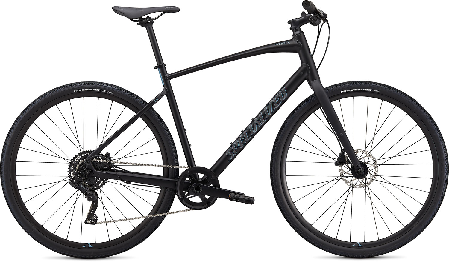 fitness kolo Specialized Sirrus X 3.0 2020 black/ storm gray