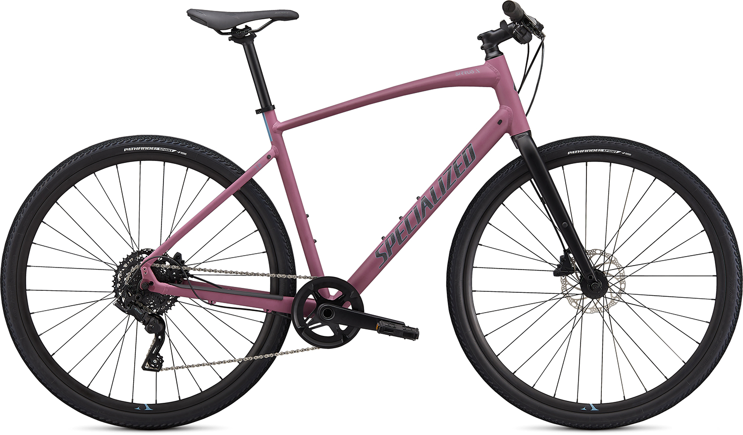 fitness kolo Specialized Sirrus X 3.0 2020 dusty lilac/storm gray