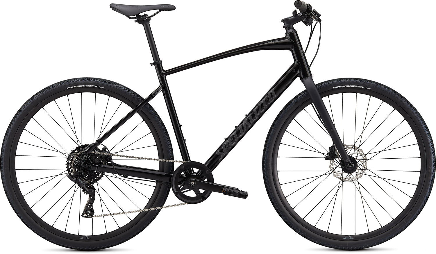 fitness kolo Specialized Sirrus X 2.0 2020 black/charcoal