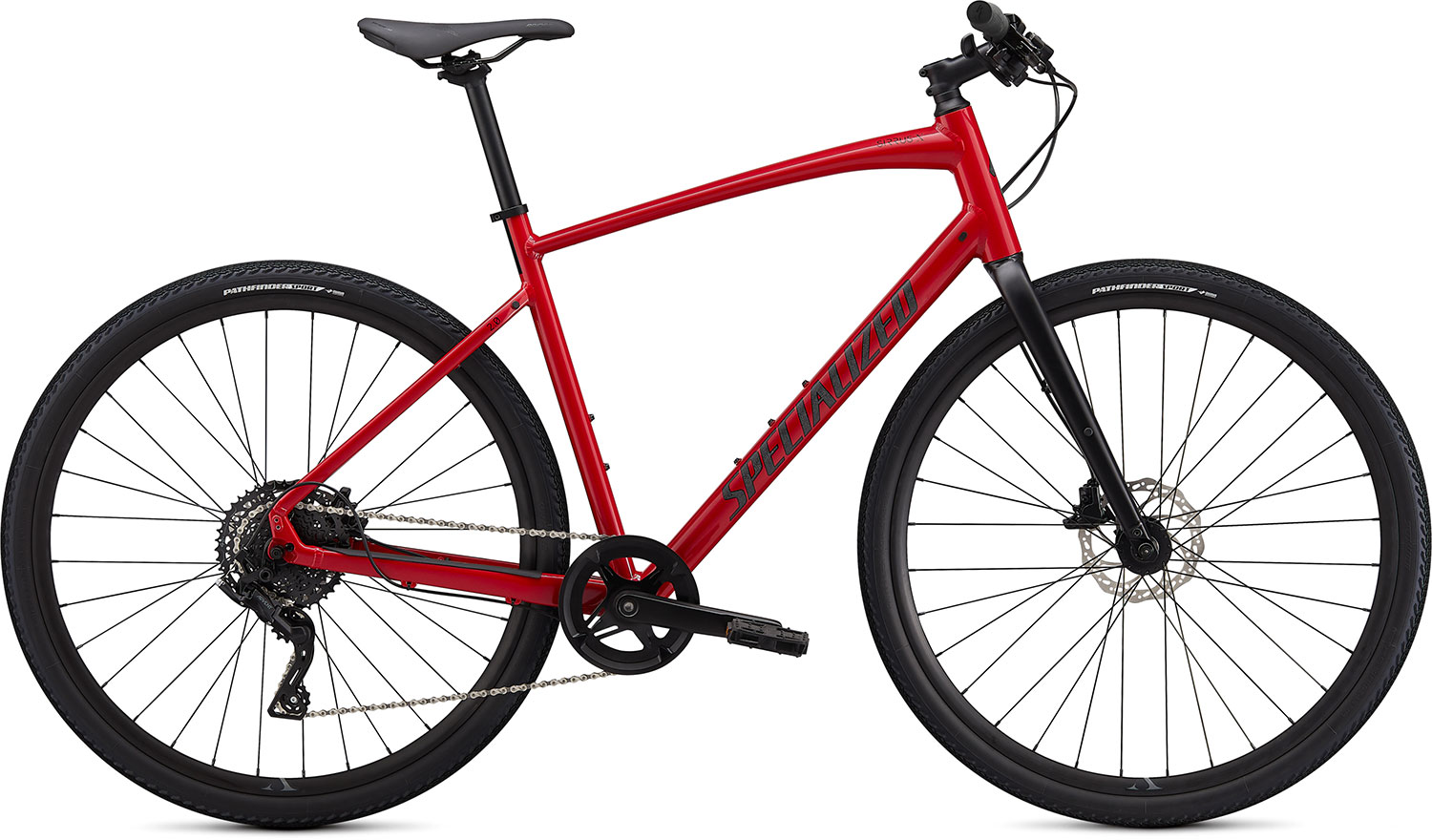 fitness kolo Specialized Sirrus X 2.0 2020 red/blue/black