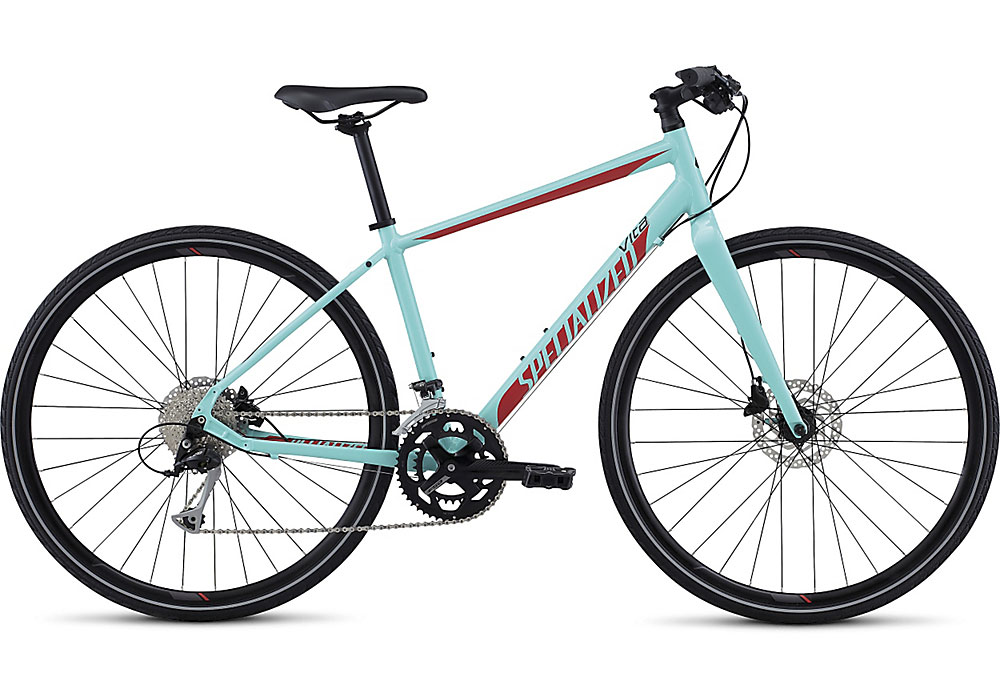 dámské fitness kolo Specialized Vita Sport 2017 light turquoise/nordic red/black