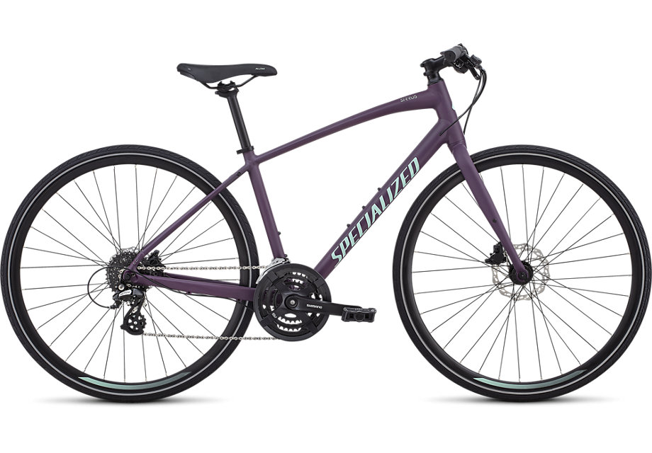 dámské fitness kolo Specialized Sirrus Women's 2019 berry/mint