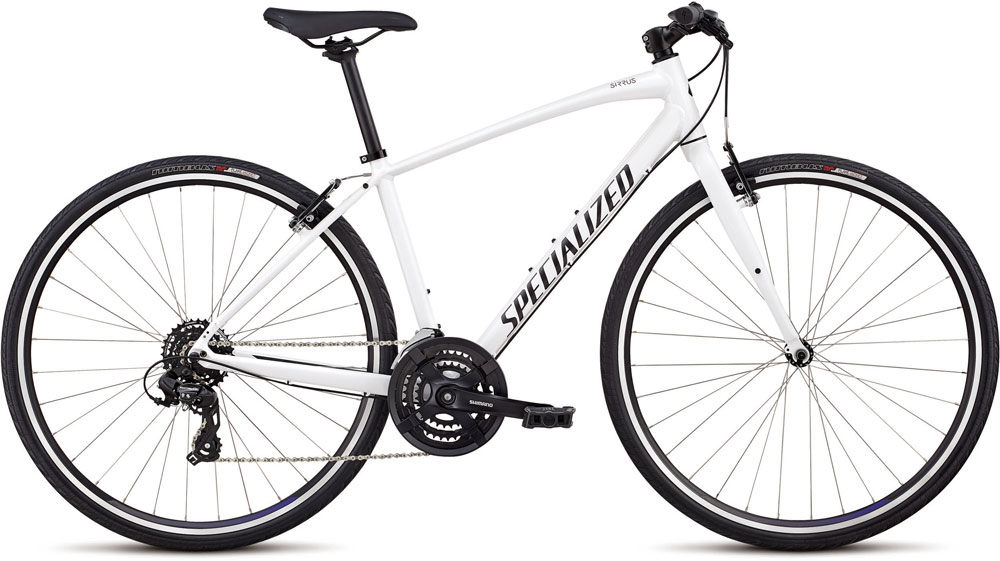 dámské fitness kolo Specialized Sirrus Women's 2018 white/black/floral