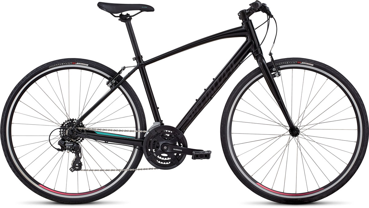 dámské fitness kolo Specialized Sirrus Women's 2020 black/mint/pink