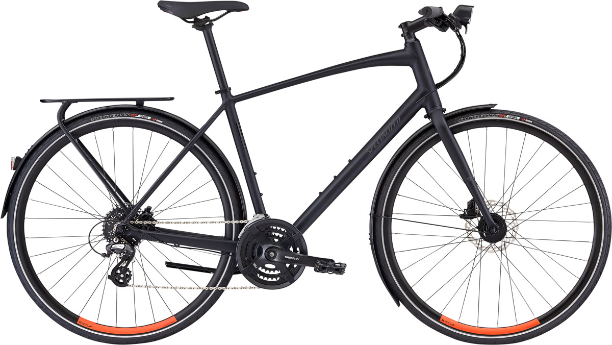 fitness kolo Specialized Sirrus EQ 2020 Black Top LTD satin battleship/hyper
