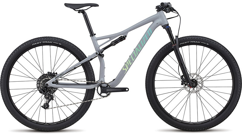 "dámské horské kolo Specialized Epic Women's Comp 29"" 2018 satin gloss gray/cali"