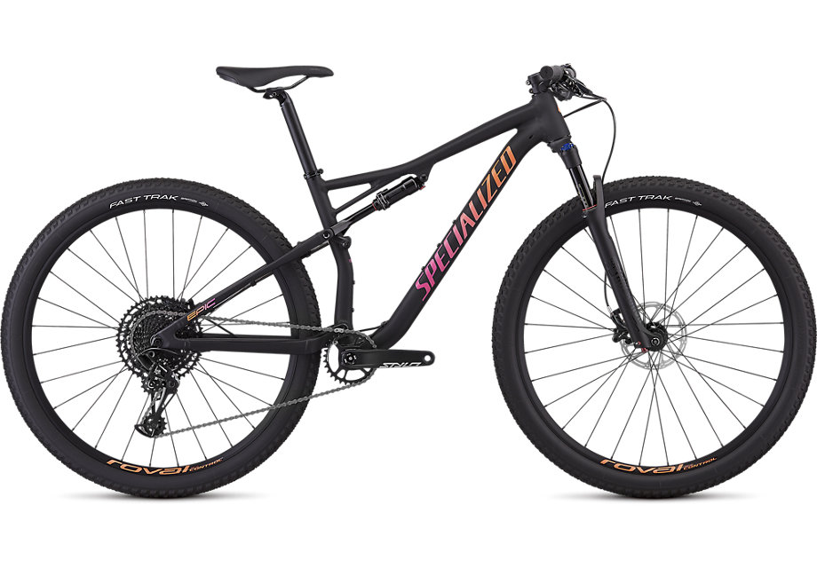 "dámské horské kolo Specialized Epic Women's Comp 29"" 2019 satin gloss black/purple"