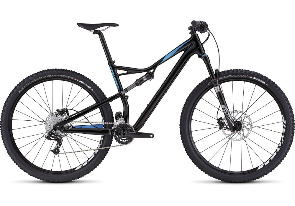 horské kolo Specialized Camber FSR Comp 29 2016 gloss black/cyan/white