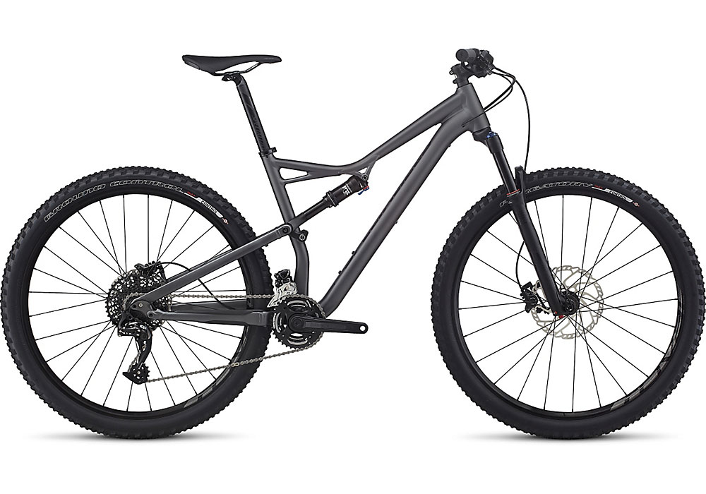 "horské kolo Specialized Camber FSR Comp 29"" 2017 graphite/black"