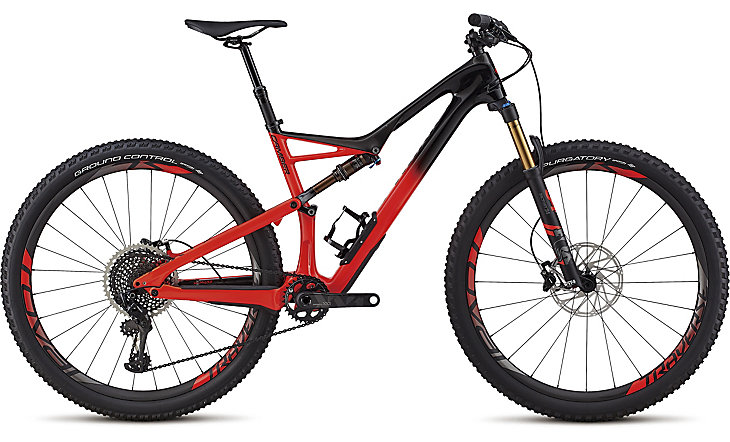 "horské kolo Specialized S-Works Camber 29"" 2018 gloss satin black/red"