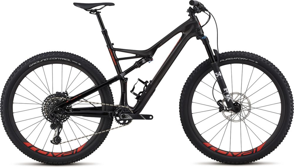 "horské kolo Specialized Camber Expert 29"" 2018 gloss carbon/carbon/red"