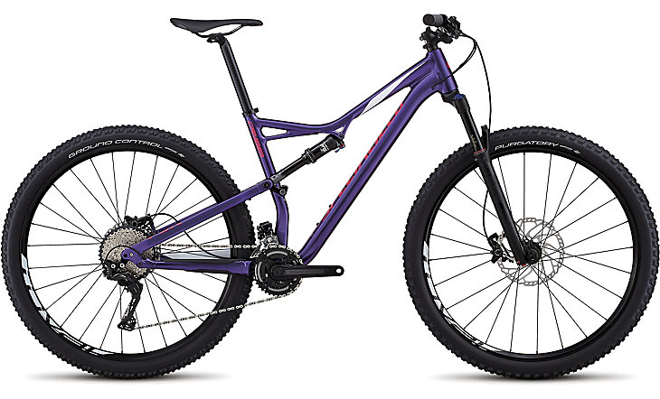 "horské kolo Specialized Camber Comp 29"" 2018 gloss purple/white/pink"
