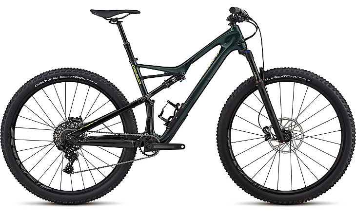 "horské kolo Specialized Camber Comp Carbon 1x 29"" 2018 gloss cavendish green/green"