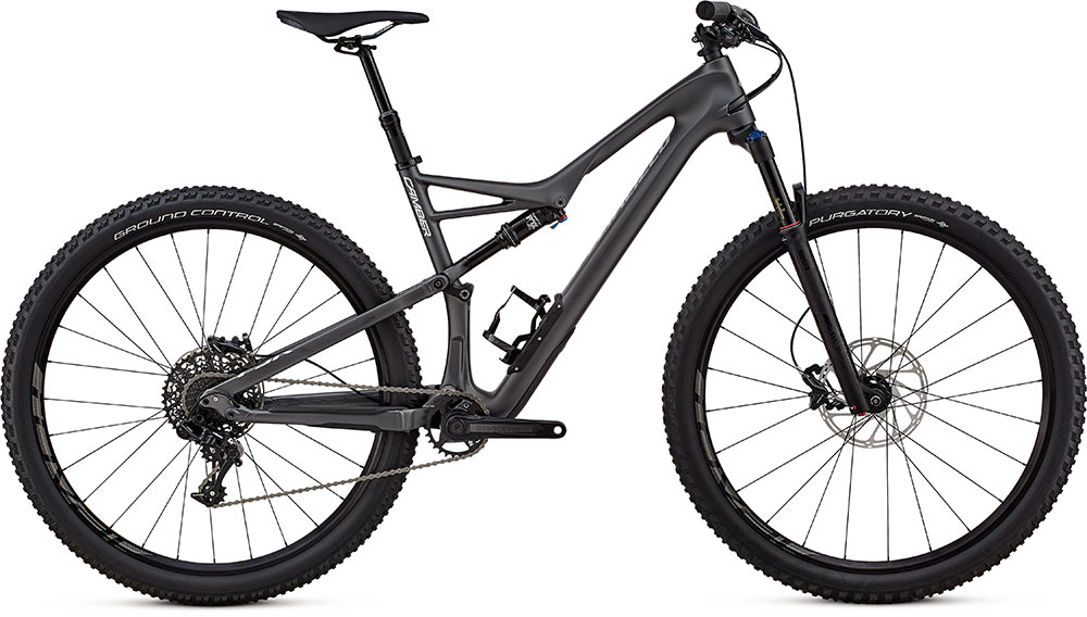"horské kolo Specialized Camber Comp Carbon 1x 29"" 2018 satin graphite/silver"