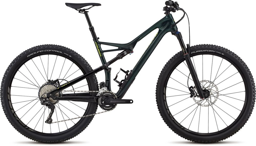 "horské kolo Specialized Camber Comp Carbon 2x 29"" 2018 gloss cavendish green/green"