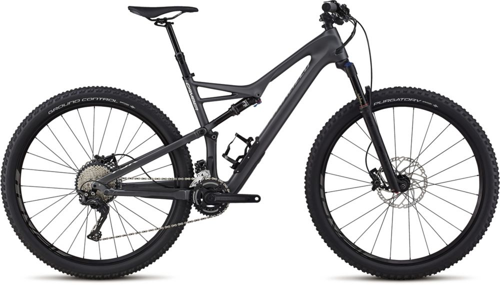 "horské kolo Specialized Camber Comp Carbon 2x 29"" 2018 satin graphite/silver"