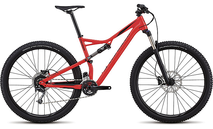"horské kolo Specialized Camber 29"" 2018 gloss satin red/black"