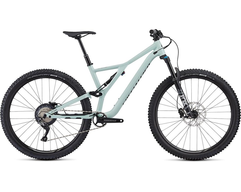 "horské kolo Specialized Stumpjumper FSR ST Comp 29"" 2020 gloss white sage/black"