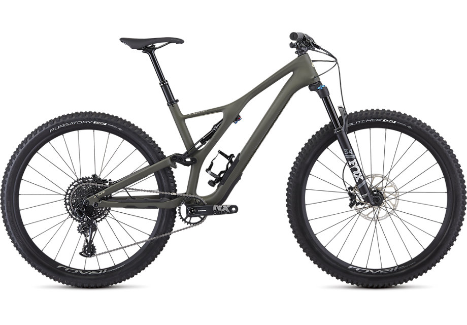 "horské kolo Specialized Stumpjumper FSR ST Comp Carbon 29"" 2019 satin/oak/sierras"