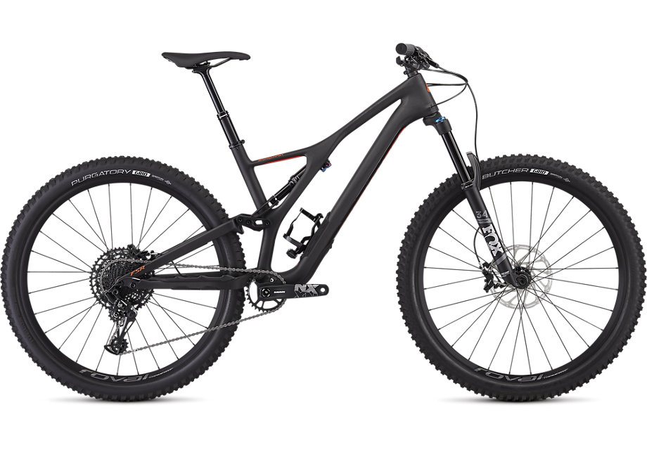 "horské kolo Specialized Stumpjumper FSR LT Comp Carbon 29"" 2019 carbon/red"