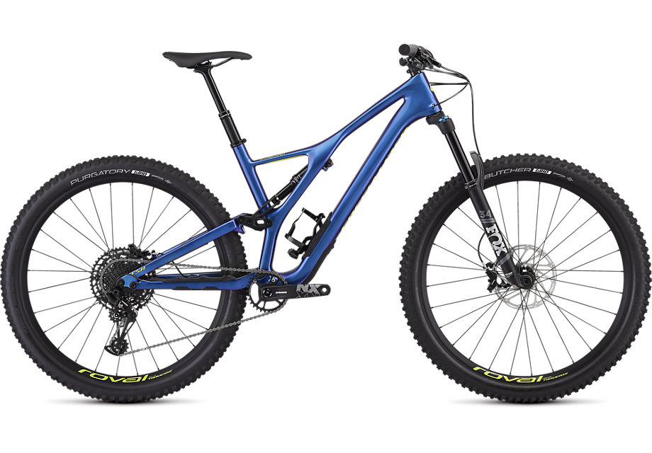 "horské kolo Specialized Stumpjumper FSR LT Comp Carbon 29"" 2019 chameleon/green"