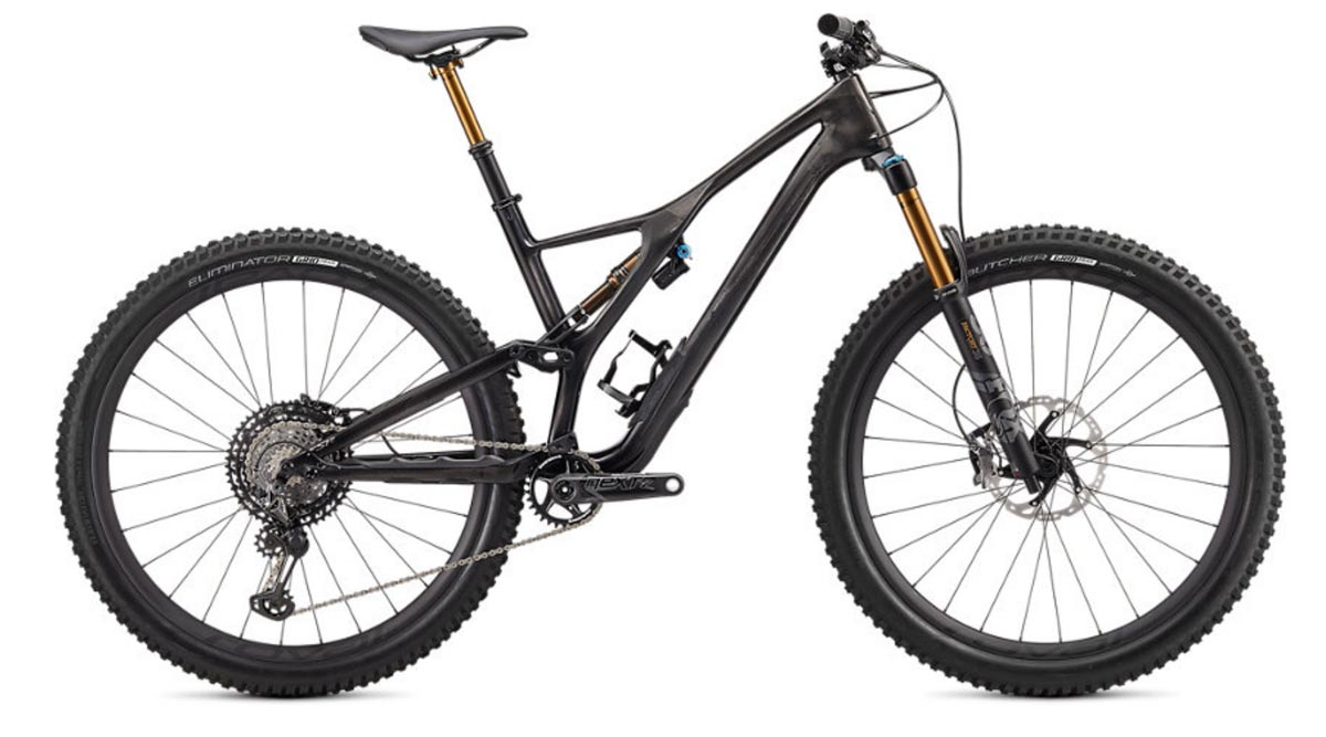 "horské kolo Specialized S-Works Stumpjumper FSR Carbon 29"" 2020 gloss carbon/black"