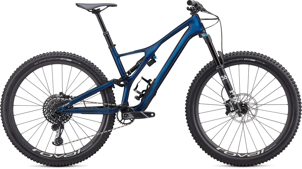 "horské kolo Specialized Stumpjumper Expert Carbon 29"" 2020 gloss navy/white"