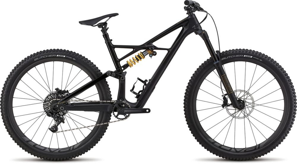 "horské kolo Specialized Enduro Coil 29"" 2018 satin gloss tarmac black/black/gold"