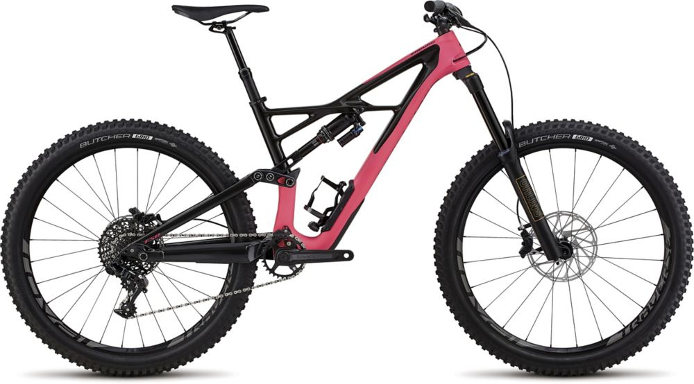 horské kolo Specialized Enduro Elite 650b 2018 satin gloss pink/carbon