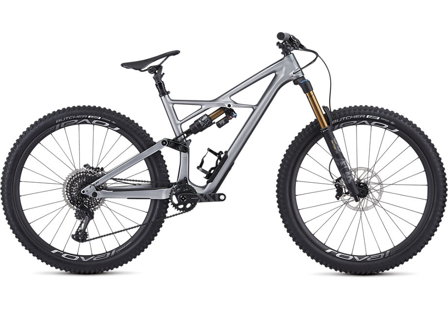 "horské kolo Specialized S-Works Enduro Carbon 29"" 2019 gloss silver/black"