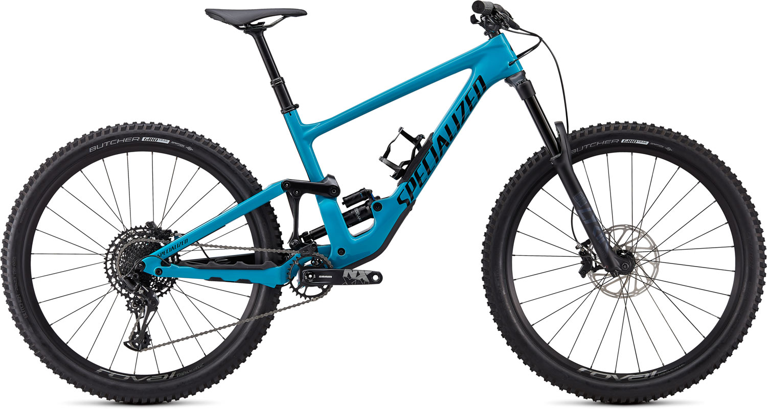 "horské kolo Specialized Enduro Comp Carbon 29"" 2020 gloss aqua/red"