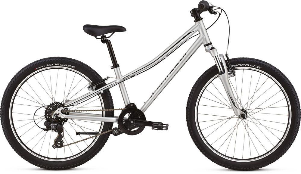 dětské kolo Specialized Hotrock 24 8 speed 2019 light silver/black