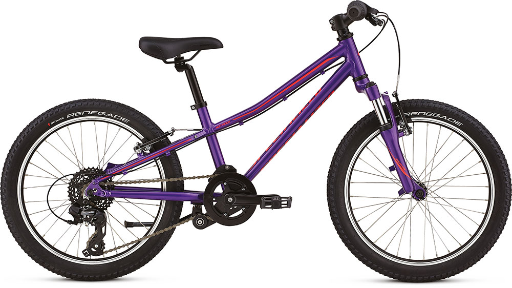 dětské kolo Specialized Hotrock 20 7 speed 2018 purple/red/black