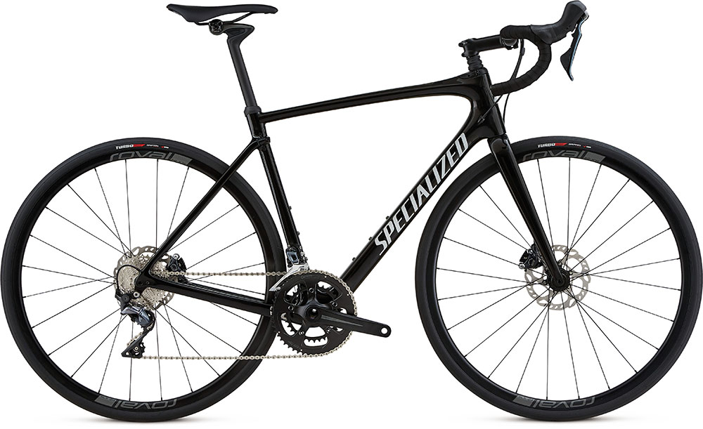 silniční kolo Specialized Roubaix Comp 2018 gloss black/white