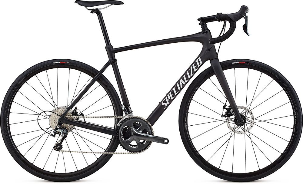 silniční kolo Specialized Roubaix 2018 satin carbon/white