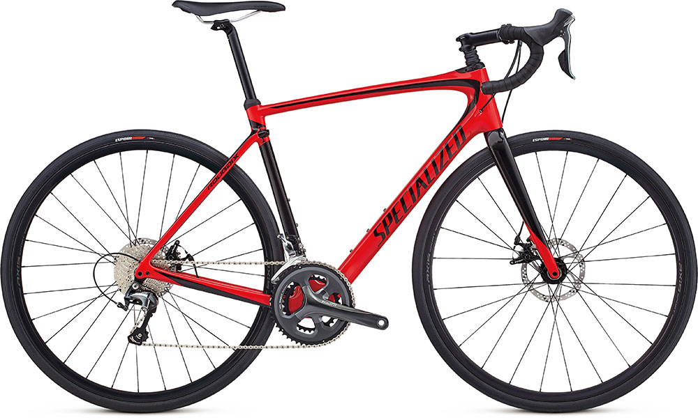 silniční kolo Specialized Roubaix 2018 gloss red/black