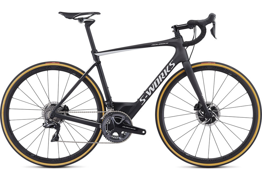 silniční kolo Specialized S-Works Roubaix Di2 2019 satin carbon/white