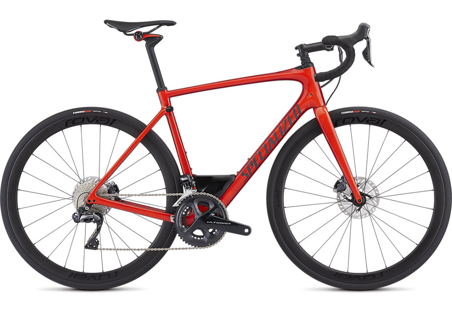 silniční kolo Specialized Roubaix Expert Di2 2019 gloss red/clean