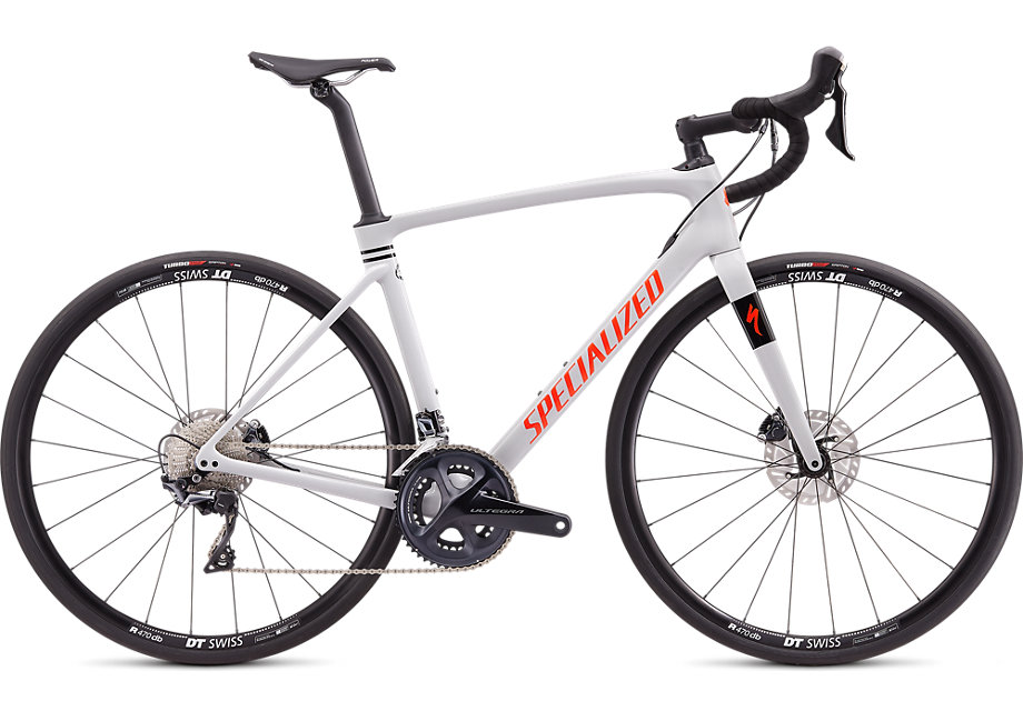 silniční kolo Specialized Roubaix Comp 2020 gloss gray/red