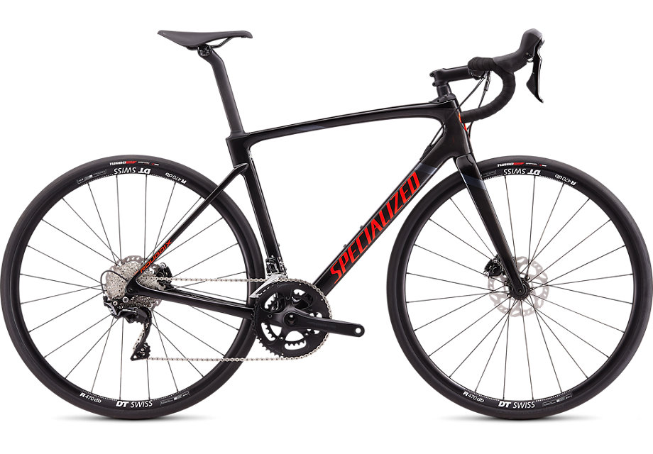 silniční kolo Specialized Roubaix Sport 2020 gloss carbon/red