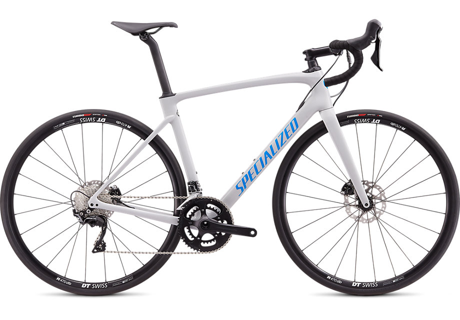 silniční kolo Specialized Roubaix Sport 2020 gloss gray/red