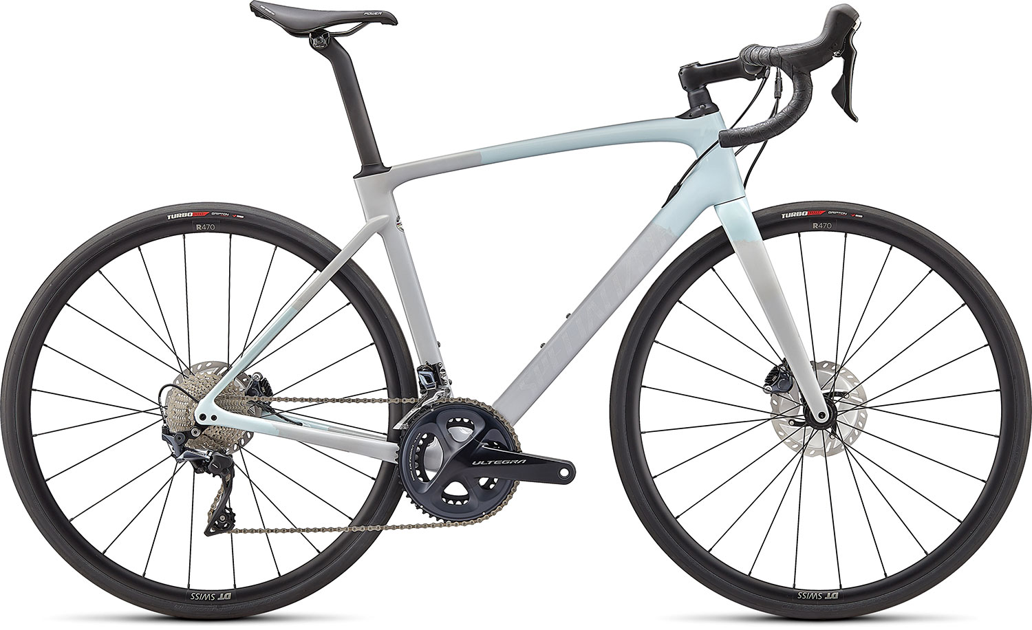 silniční kolo Specialized Roubaix Comp 2021 gloss ice blue/gray