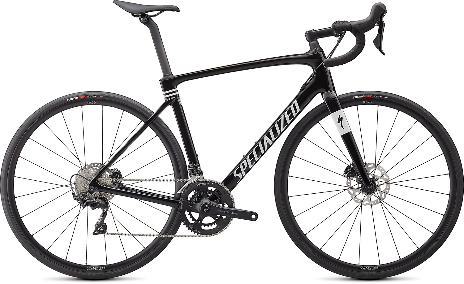silniční kolo Specialized Roubaix Sport 2021 gloss black/white