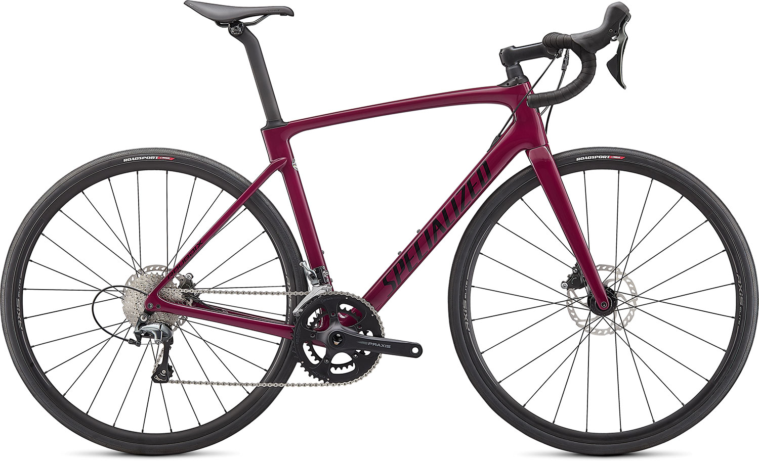silniční kolo Specialized Roubaix 2021 gloss raspberry/black