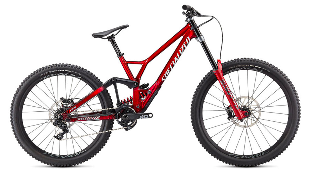 horské kolo Specialized Demo Race 2021 gloss brusher/red