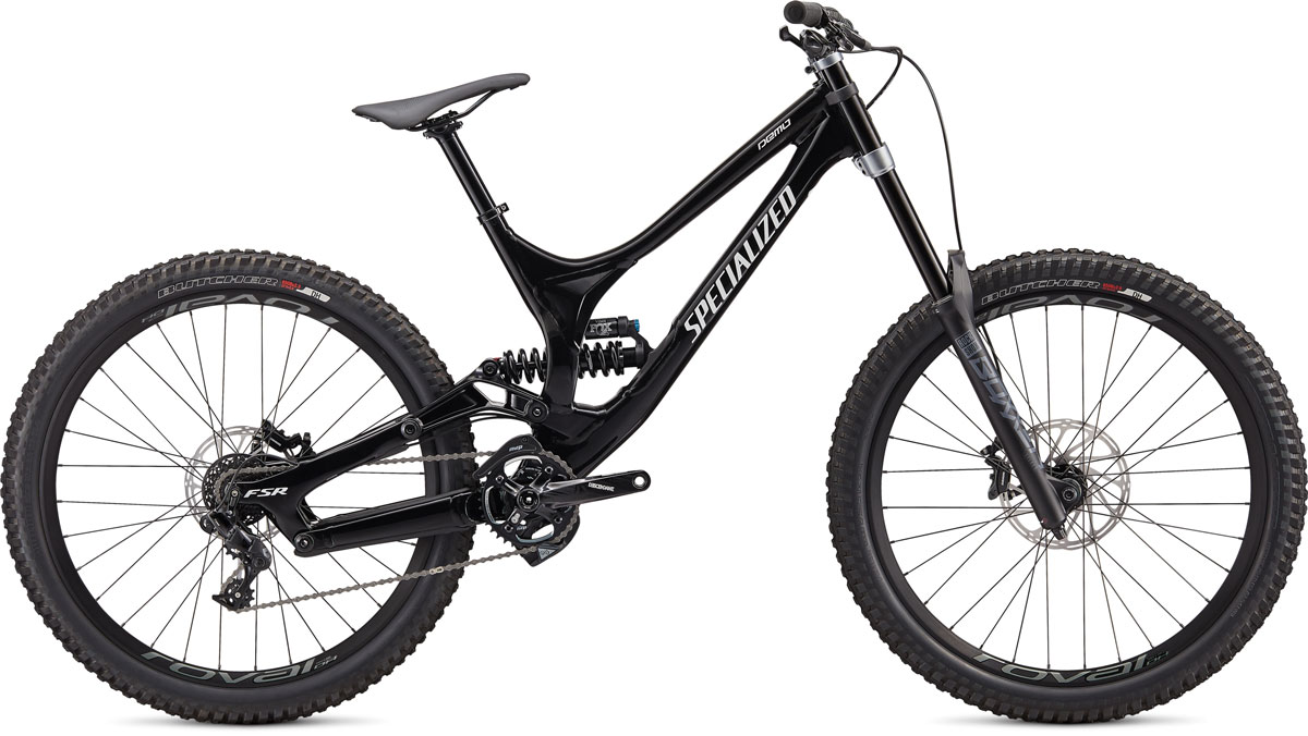 "horské kolo Specialized Demo I 8 27,5"" 2020 gloss black/white"